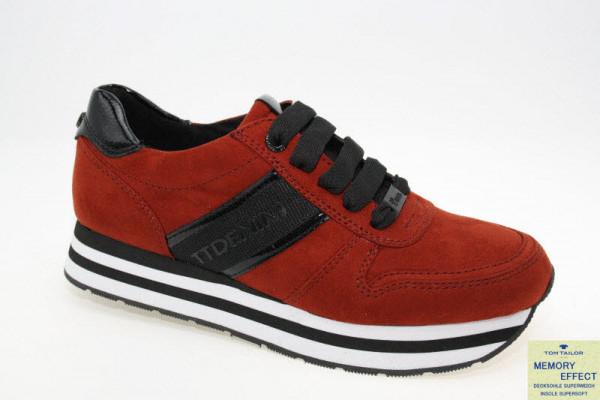 Tom Tailor Sneaker  Rot