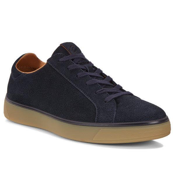 Ecco Street Tray Sneaker Blau - Bild 1