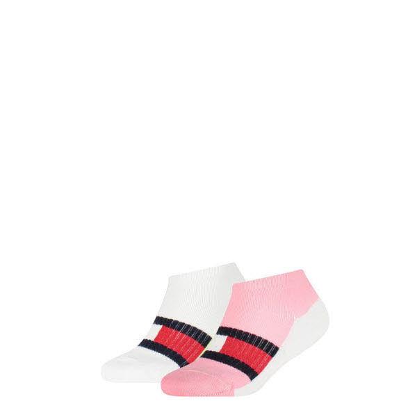Tommy Hilfiger Sneakersocken 2-Pack Rosa - Bild 1