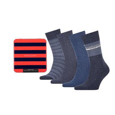 Tommy Hilfiger Socken 4er Pack Blau - Bild 1