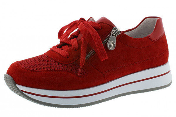 Rieker N450133 N45 Sneaker Rot