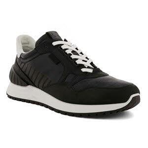 Ecco Astir Black Sneaker Schwarz