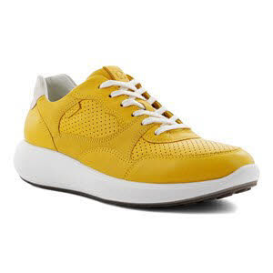Ecco Soft 7 Runn Sneaker Gelb