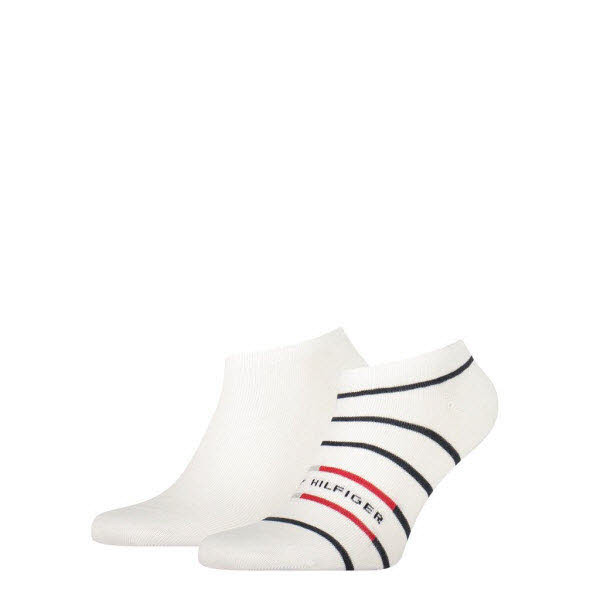 Tommy Hilfiger Sneakersocken 2-Pack Weiß