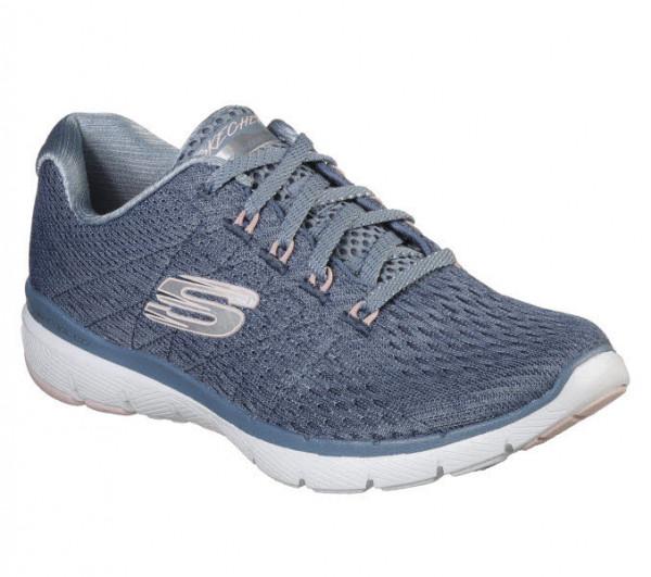 Skechers Flex Appeal 3.0 Sneaker Blau - Bild 1