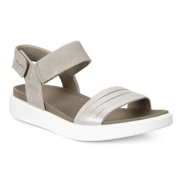 Ecco Flowt Sandale Grau - Bild 1