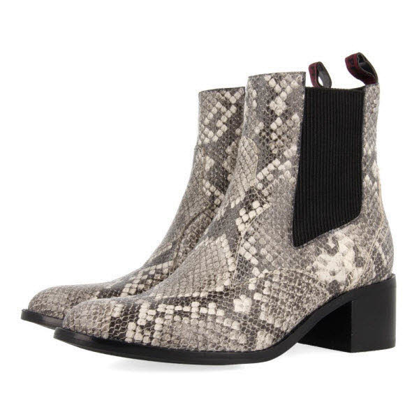 Gioseppo Chelsea Chelsea Boot, Textilfutter Weiß