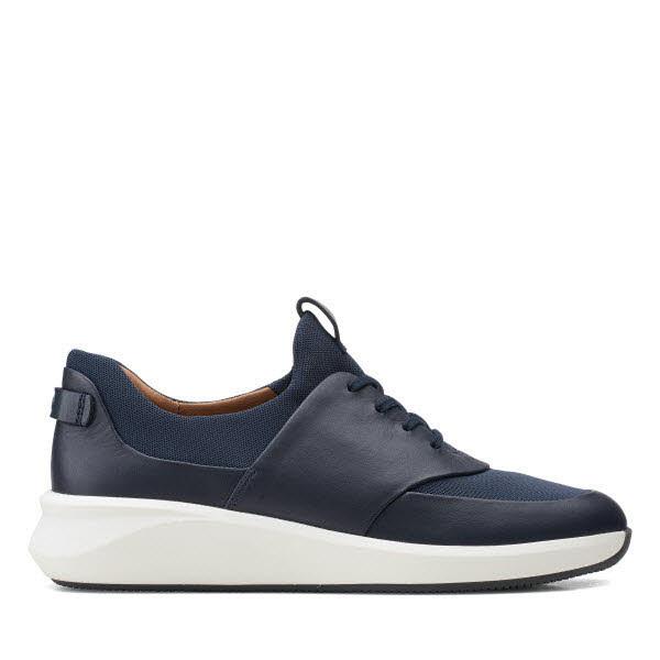 Clarks Sneaker Blau - Bild 1