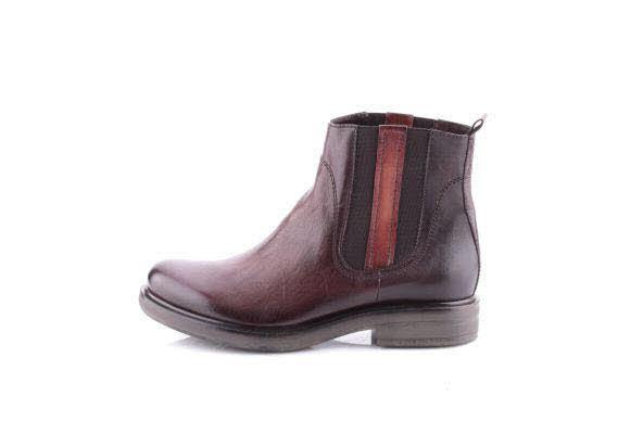 MJUS Chelsea Boot, Textilfutter Braun
