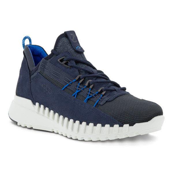 Ecco Zipflex M Sneaker Blau - Bild 1