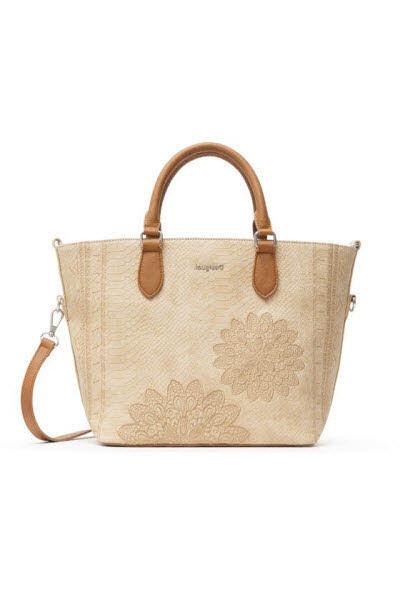 Desigual Handtasche Beige - Bild 1