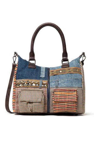 Desigual Tasche  Blau