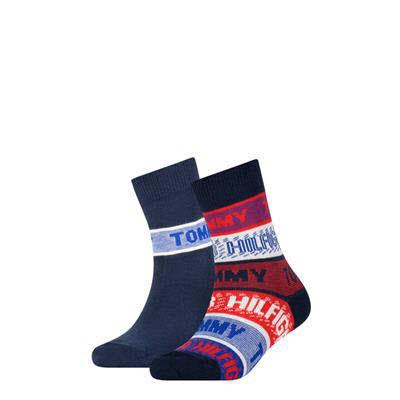 Tommy Hilfiger Socken 2er Pack Blau - Bild 1