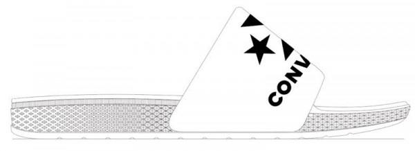 Converse Slides Weiß - Bild 1