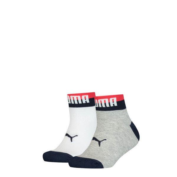 Puma Sneakersocken 2-Pack Grau