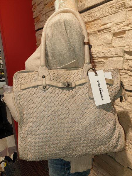 Taschendieb Shoppertasche Beige
