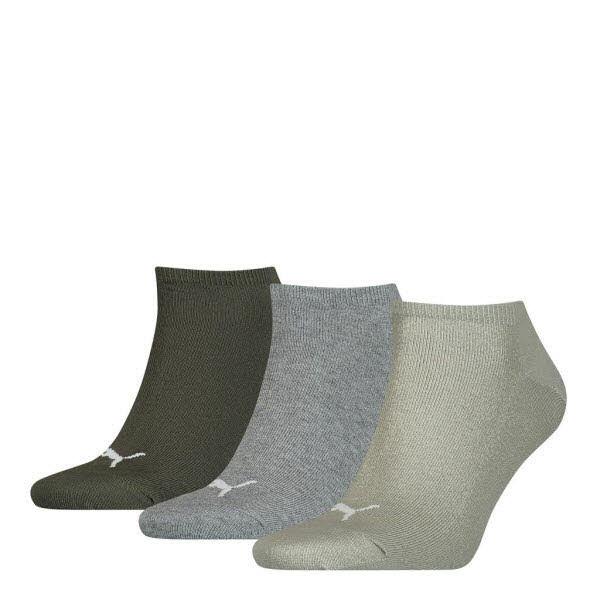 Calvin Klein Sneakersocken 3-Pack Grau