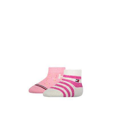 Tommy Hilfiger Socken 2er Pack Rosa - Bild 1