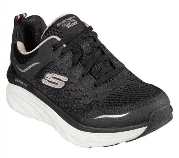 Skechers D´Lux Walker Sneaker Schwarz - Bild 1