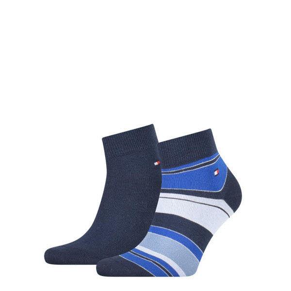 Tommy Hilfiger Socken kurz 2-Pack Blau