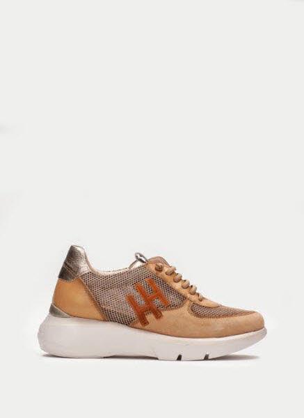 Hispanitas Sneaker Braun - Bild 1