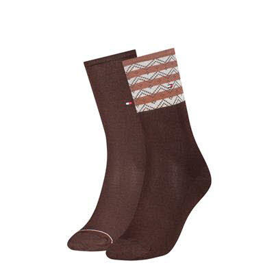 Tommy Hilfiger Socken 2er Pack Braun