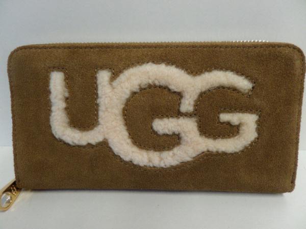 UGG Börse mit Zip  Braun