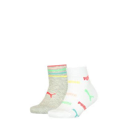 Puma Socken kurz 2er Pack Weiß