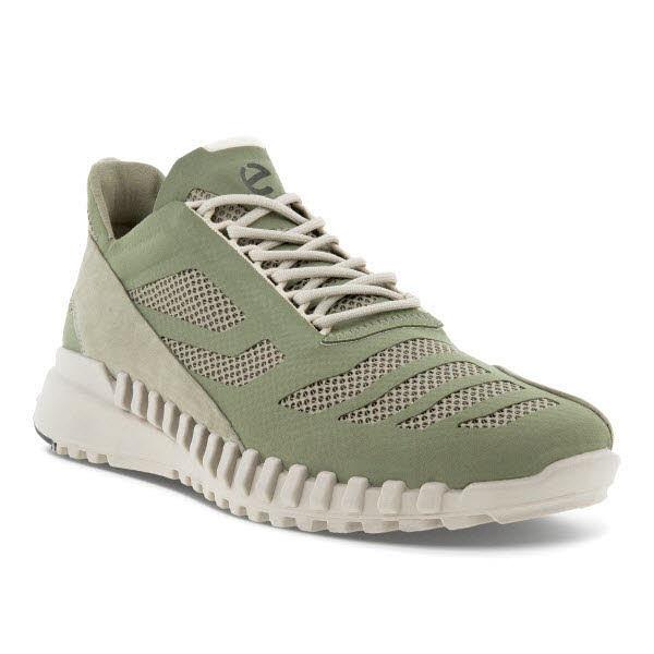 Ecco Zipflex M V Sneaker Oliv - Bild 1
