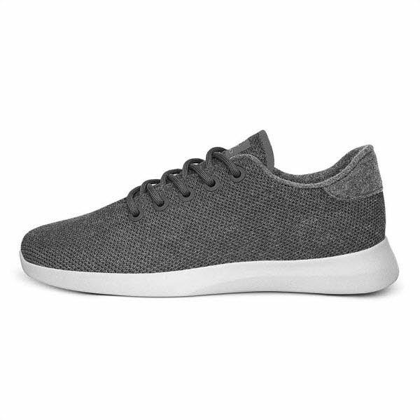 Giesswein Merino Wool KNIT Sneaker Grau - Bild 1