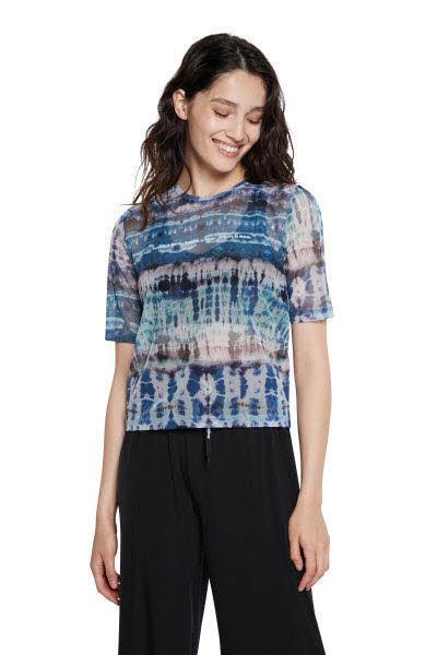 Desigual T-Shirt Blau - Bild 1