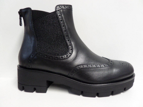 Nero Giardini Chelsea Boot, Lederfutter Schwarz