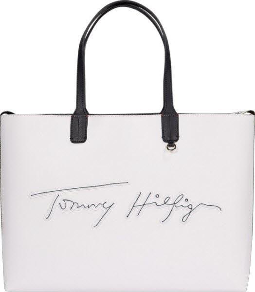 Tommy Hilfiger Shoppertasche Weiß