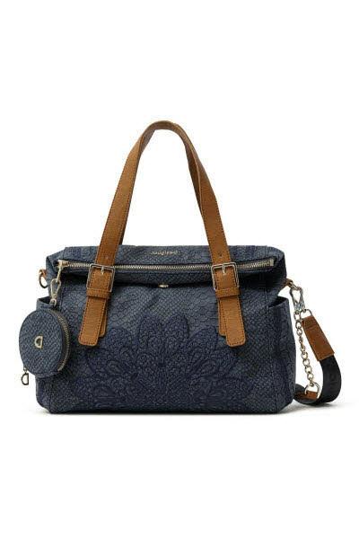 Desigual Handtasche Blau - Bild 1