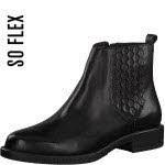 S. Oliver s.Oliver [W Chelsea Boot, Textilfutter Schwarz