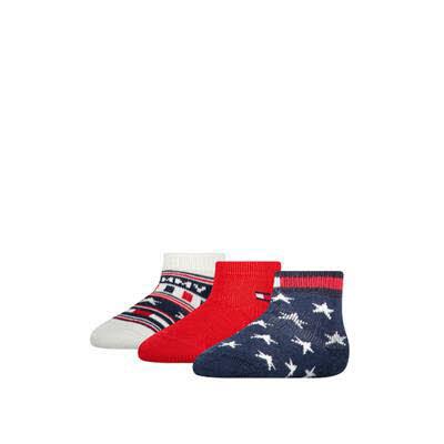 Tommy Hilfiger Socken 3er Pack Blau - Bild 1