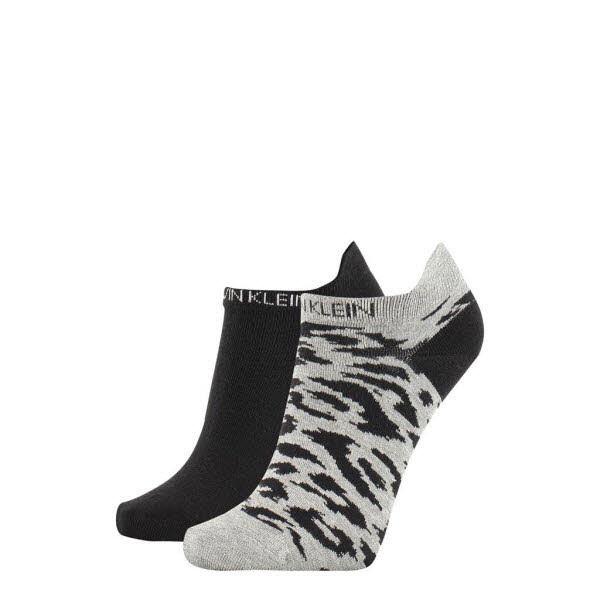 Calvin Klein Sneaker Socken 2er-Pack Grau