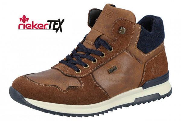Rieker Hi Top Sneaker Braun - Bild 1