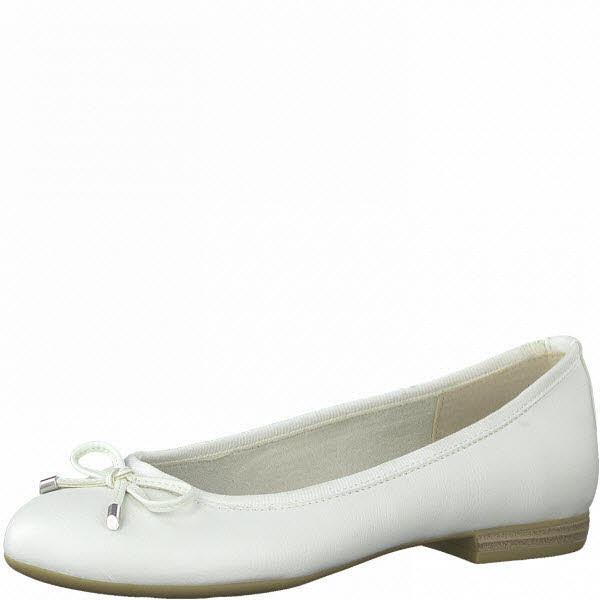 Marco Tozzi Ballerina Weiß - Bild 1