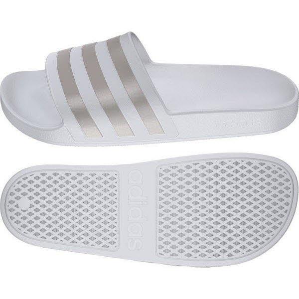 Adidas Slides Weiß - Bild 1