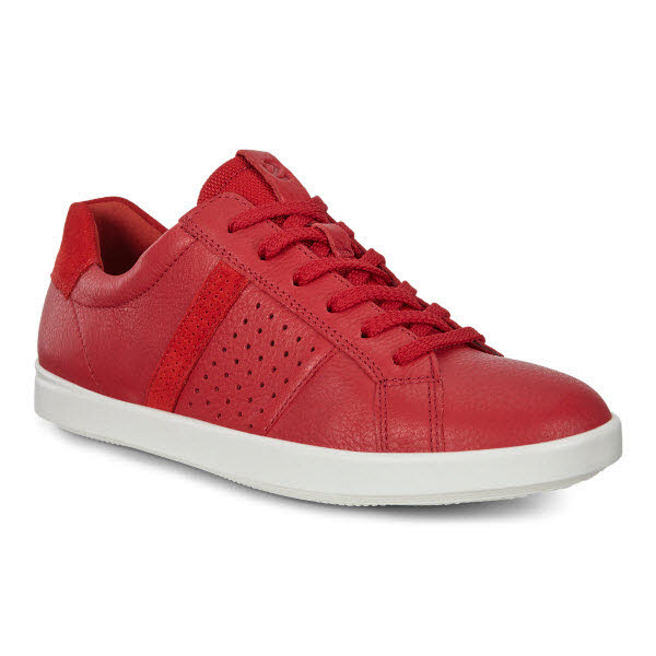 Ecco Leisure Sneaker Rot - Bild 1