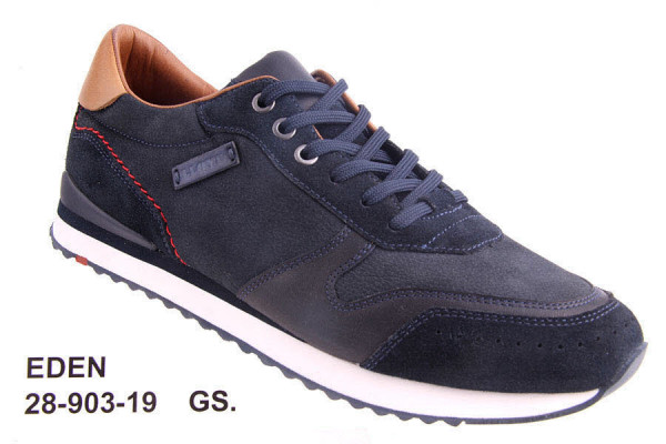 LLOYD EDEN Sneaker Blau