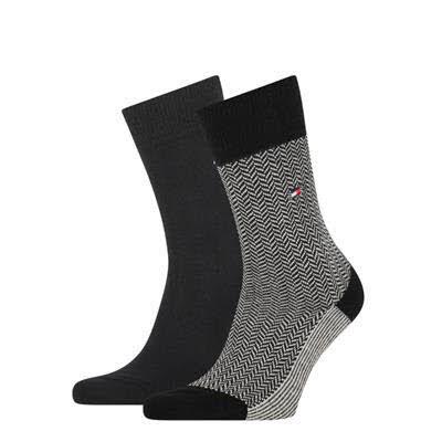 Tommy Hilfiger Socken 2er Pack Schwarz
