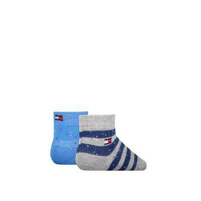 Tommy Hilfiger Socken 2er Pack Grau - Bild 1