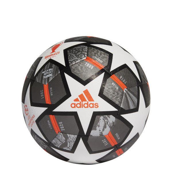 Adidas Fußball Grau - Bild 1