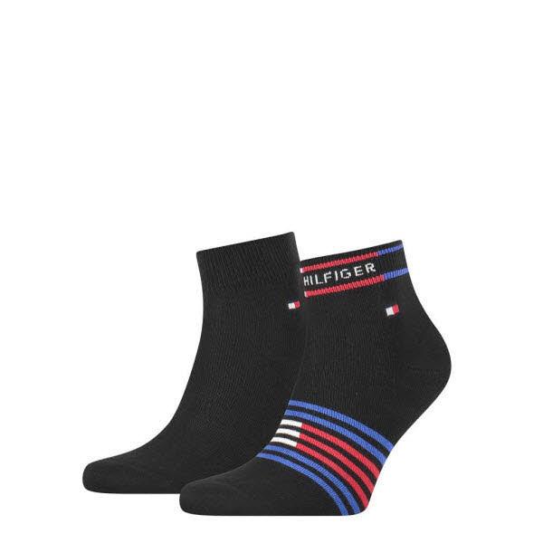 Tommy Hilfiger Socken kurz 2-Pack Schwarz