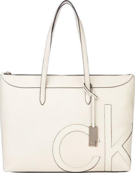 Calvin Klein Shoppertasche Weiß