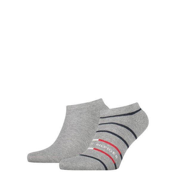Tommy Hilfiger Sneakersocken 2-Pack Grau