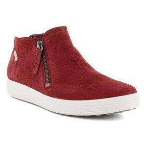 Ecco Soft 7 W Sy High Top Sneaker Rot - Bild 1