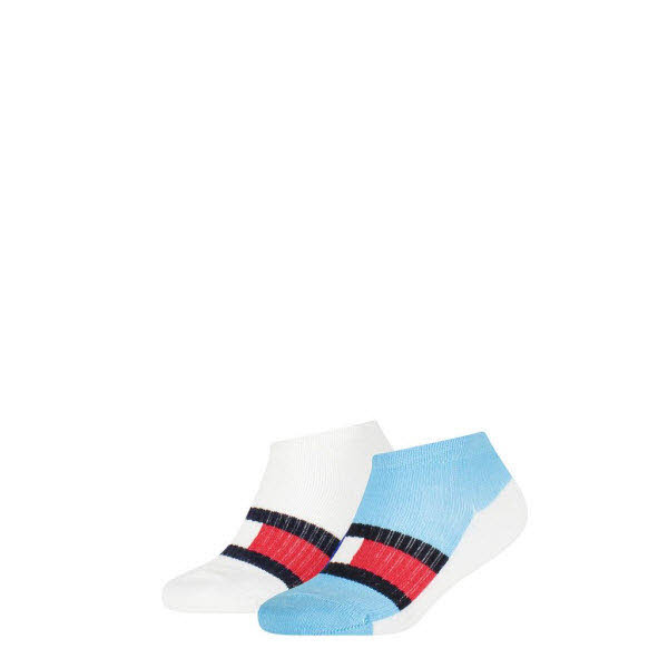 Tommy Hilfiger Sneakersocken 2-Pack Blau - Bild 1